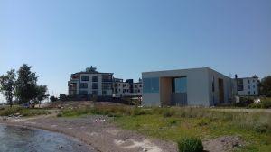 Spaet i Hangö som heter Hangö havsbad.