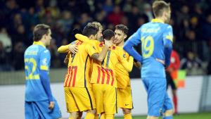 För tre år sedan ställdes BATE Borisov mot Barcelona i Champions League-gruppspelet.