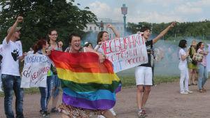 Pride i Sankt Petersburg 2013.