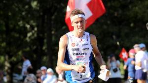 Aleksi NIemi vid VM i orientering.