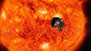 Sonden Parker Solar Probe ska undersöka solen på nära håll.
