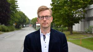 Juha Nummela, t.f. direktör för Österbottens arbets- och näringsbyrå.