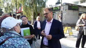 Juha Sipilä i Vanda.