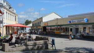 Tarmola-huset på Köpmansgatan i Pargas.