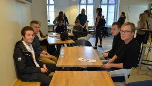 Hankenstuderande i Vasa