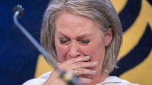 Nicky Verstappens mor Berthie Verstappen reagerade starkt då polisen meddelade att man var nära att lösa det 20 år gamla mordet