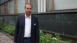 Jussi Heino på Statistikcentralen.