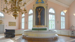 Altaret i Korsnäs kyrka
