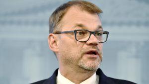 Statsminister Juha Sipilä (C.)