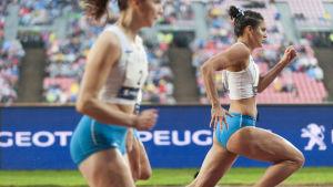 Nooralotta Neziri är sprinterlöpare.