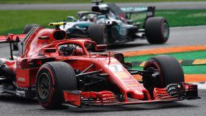 Kimi Räikkönen i farten.