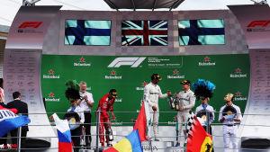 Formel 1-prisutdelning.