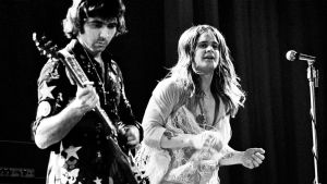 Tony iommi och Ozzy Osbourne live med Black Sabbath 15.6.1973.