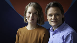 Marianne Sundholm och Stefan Winiger