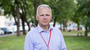 Maatalousministeri Jari Leppä Porin SuomiAreenassa