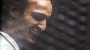 Fotojournalisten Shawkan fängslades efter massakern i Raaba moskén