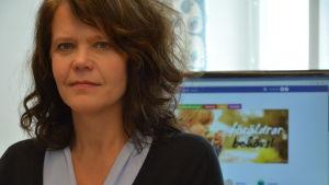 Petra Högnäs, projektledare för Hem och skolas projekt Varje förälder är en resurs för sitt barn.
