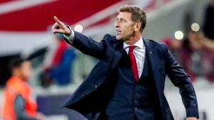 Italienaren Massimo Carrera har tränat Spartak i två år.