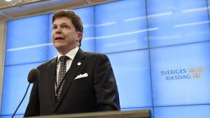 Den nya talmannen, moderaten Andreas Norlén ska härnäst utse en regeringsbildare