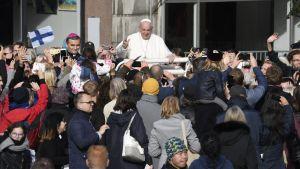 Påven Franciskus i Tallinn.