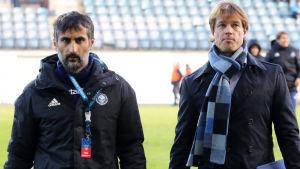 Jose Riveiro och Mika Lehkosuo.