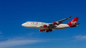 Virgin Atlantic Airways-flygplan.