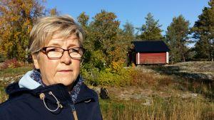 Fastighetsförmedlare Barbro Sundell.