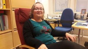 Birgit Häger-Nylund jobbar vid Familjerådgivningen i Korsholm