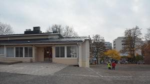 Kärnhuset vid Sirkkala skola.