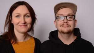 Tiina Raevaara ja Ville Yli-Knuutila.