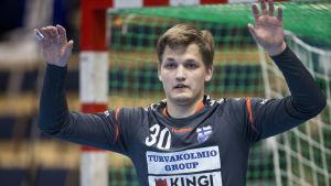 Mikael Mäkelä, Handbollslandslaget