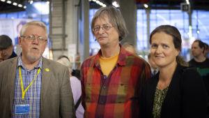 Lars Sund, Trygve Söderling och Susann Simolin.