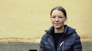 Camilla Nyholm är erfarenhetsexpert