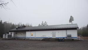 En hall för slakteri
