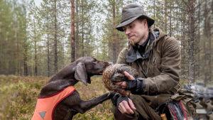 Antti Kokko koirineen