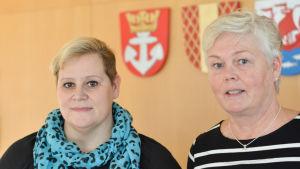 Camilla Rautanen och Ann-Sofie Nyberg-Ölander.
