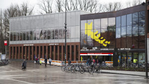 Metrostationen i Otnäs.