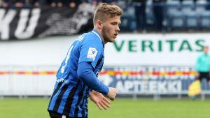 Benjamin Källman i Inter 2018.