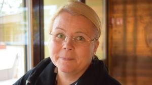 Marjut Marttinen är integrationssakkunnig vid te-byrån i Österbotten.