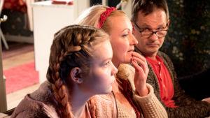 Aikuisen naisen joulukalenteri on komedia aikuisen naisen mielen, sielun ja kehon tilasta joulukuun ensimmäisestä päivästä jouluaattoon saakka.