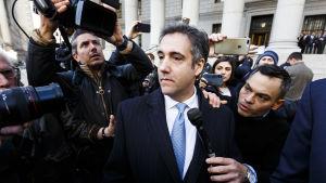 Trumps före detta advokat Michael Cohen.