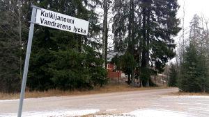 Vandrarens lycka i Borgå.