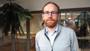 Specialforskare Henrik Nygård vid Finlands miljöcentral