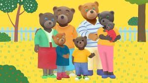 Ruskean pikkukarhun perhe
