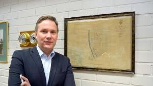 Stadsdirektör Mats Brandt i Nykarleby