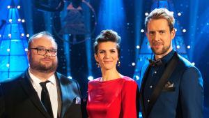 Sam Pitkämö, Maria Ylipää ja Waltteri Torikka joulukonsertoivat yhdessä.