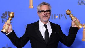 Dubbelvinst på Golden Globes 2019 för regissören Alfonso Cuaron.