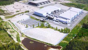 S-gruppens logistikcentrum i Sibbo