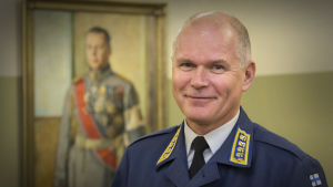 Försvarsmaktens kommendör Jarmo Lindberg
