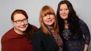 Paula Jokimies, Susanna Vainiola ja Anna Kokkonen
